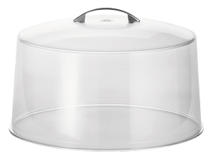 """12"""" Clear Cake Cover"""