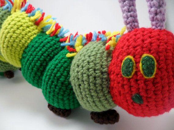 Free Crochet Pattern Very Hungry Caterpillar : Crochet Very Hungry Caterpillar