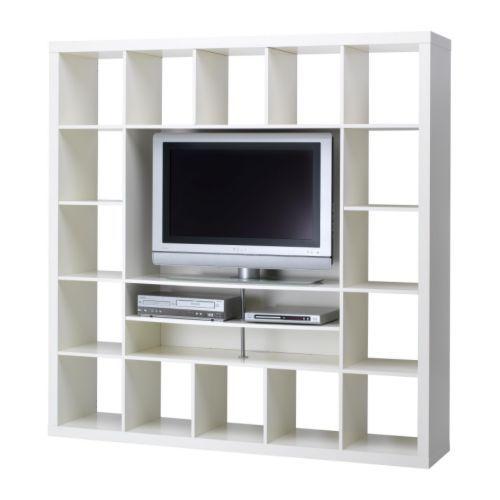 Expedit Ikea Entertainment Center ~ expedit tv storage unit 701 030 90 $229  Basement  Pinterest