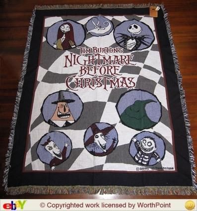 Nightmare Before Christmas Quilt | Products I Love | Pinterest