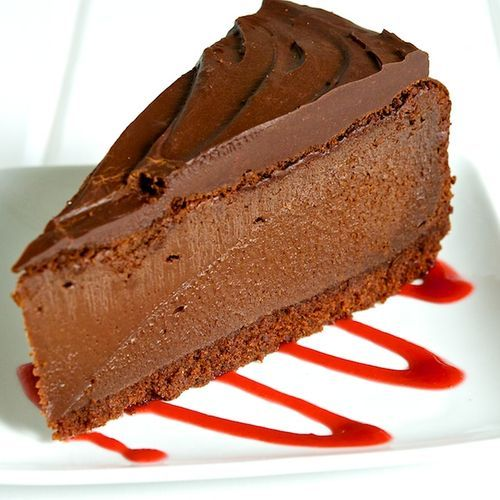 Triple Chocolate Cheesecake | Just Desserts | Pinterest
