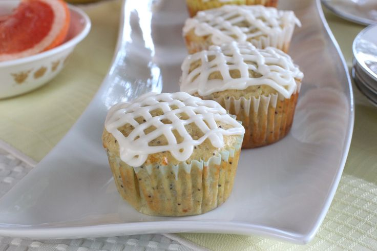 Glazed Lemon Poppy Seed Muffins | Cooking and Baking | Pinterest