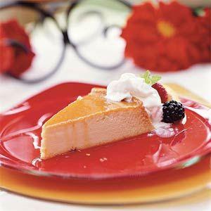 Orange Flan Recipe | MyRecipes.com