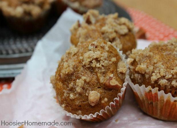 Streusel Topping - flour - pumpkin pie spice - canned pumpkin - sugar ...