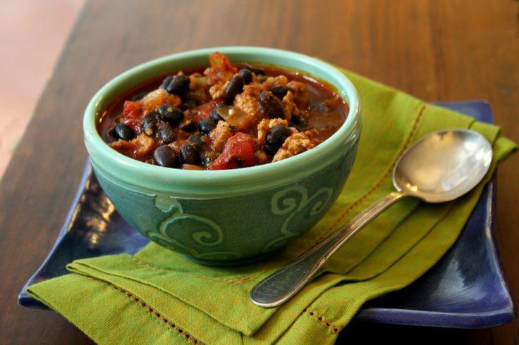 ... of black beans. http://blog.crosbys.com/moms-black-bean-turkey-chili
