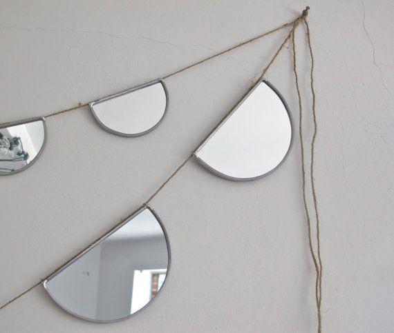 mirror garland • fluxglass
