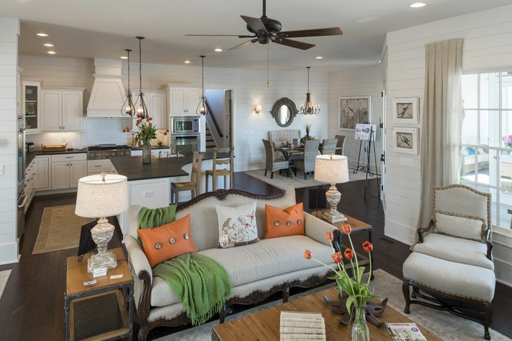 Great Full View Of Living Area Southern Living All American Cottage