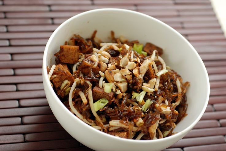 vegan Pad Thai | Vegan | Pinterest
