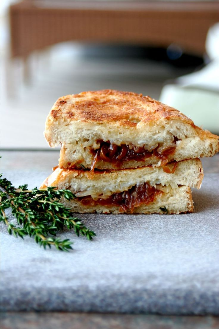 French Onion Soup Grilled Cheese | Favorite Recipes | Pinterest