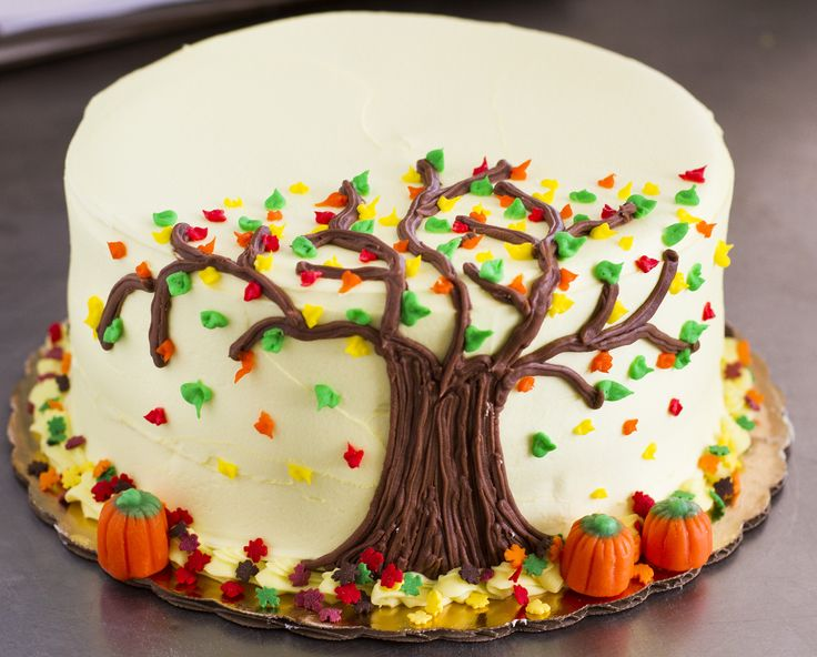 Cake Decor Fall : Simple Fall Cake Decorating Ideas 3469 Easy Fall Cake Deco