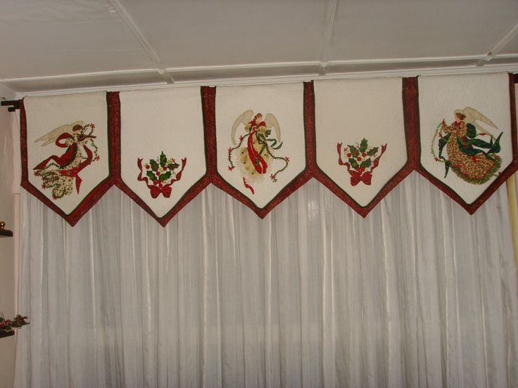 Cenefa angeles subido y creado por - Tela para cortina de cocina ...