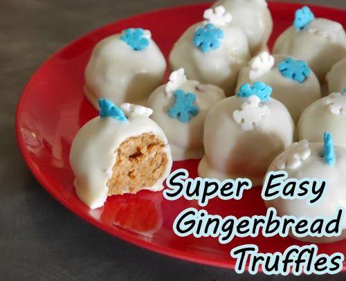 Gingerbread truffles/cake pops recipe | A Gingerbread Christmas! | Pi ...