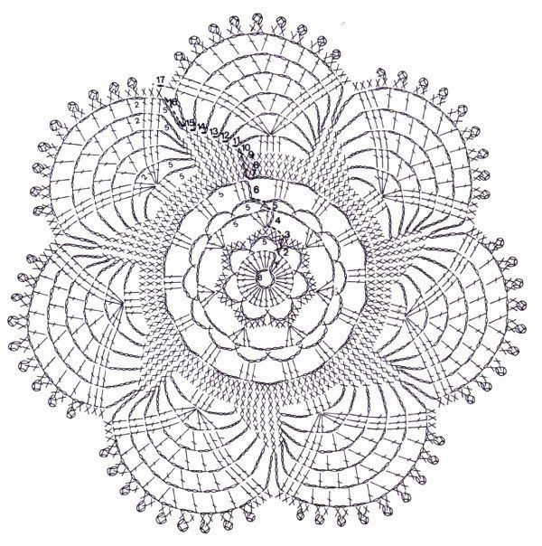 filet crochet doily diagram  filet  free engine image for