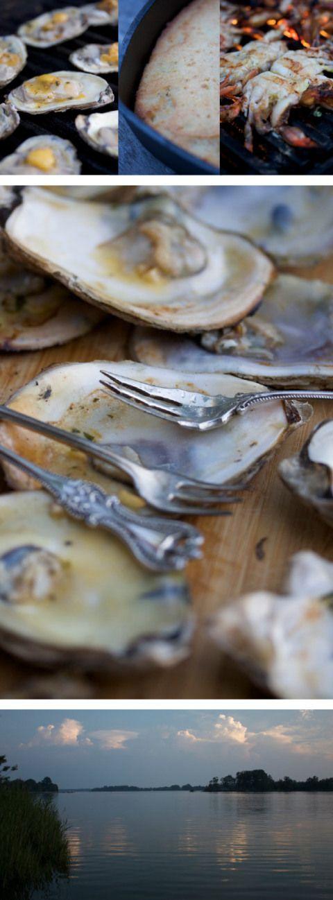 Oyster roast | Engagement Oyster Roast | Pinterest