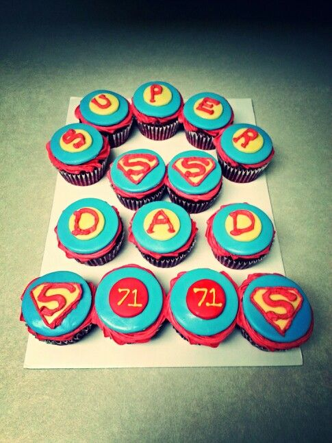 fathers day cupcakes