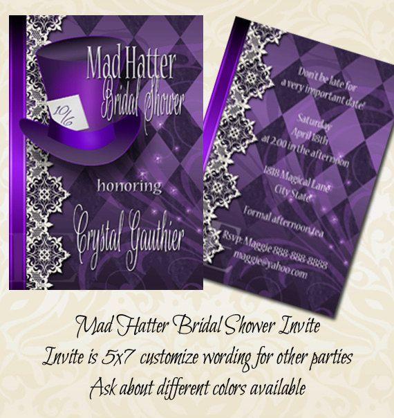 Purple Bridal Showers