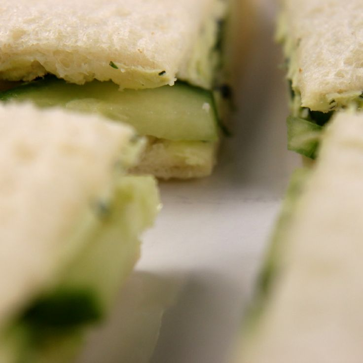 Tea Sandwich Recipes - How to Make Finger Sandwiches