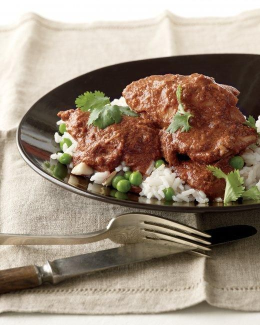 Slow-Cooker Chicken Mole Recipe | cooking inspiration | Pinterest