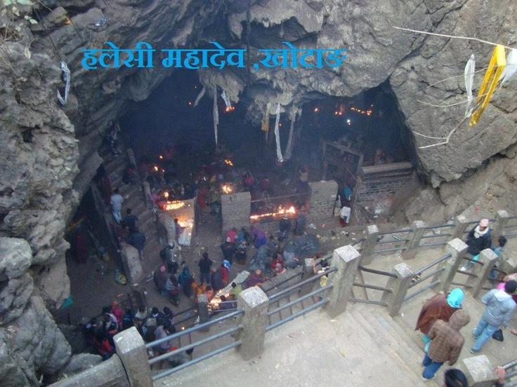 Haleshi Mahadev is the most sacred pilgrimage site of eastern Nepal ...