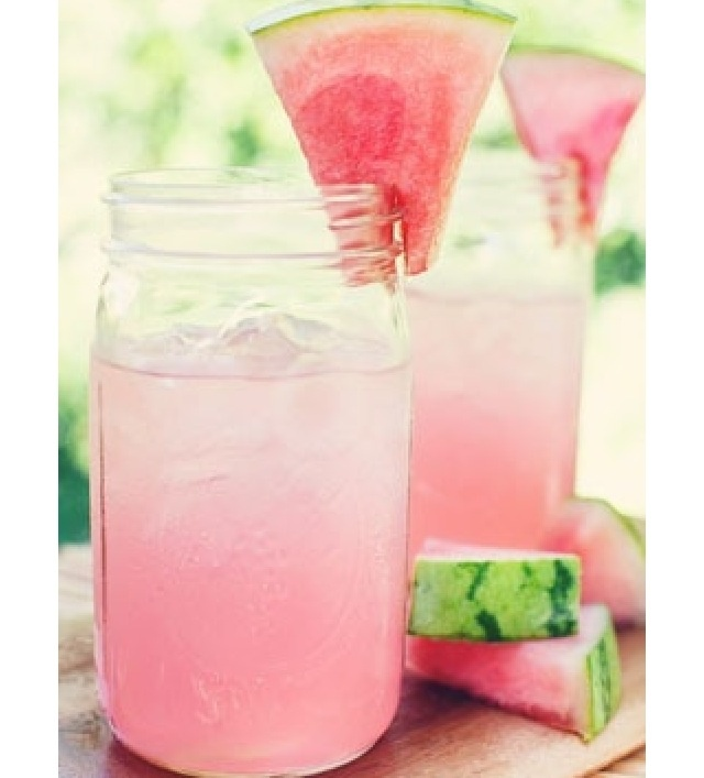 Pink lemonade and a watermelon wedge!   Diy   Pinterest