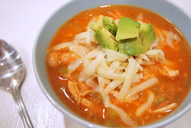 fast easy white chicken chili | Delish! | Pinterest