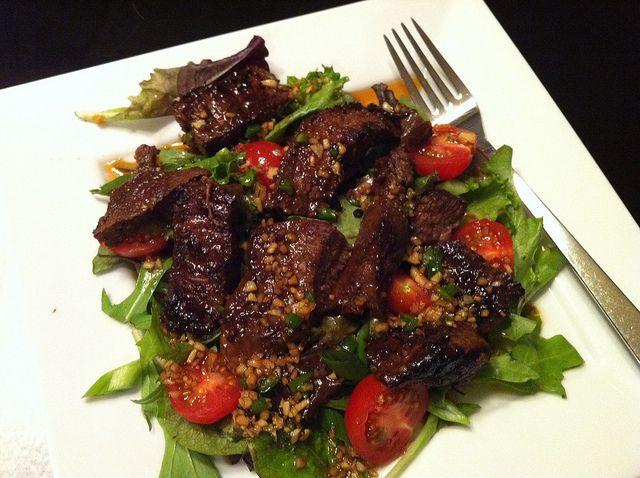Ginger Steak Salad | What'cha Got Cookin'? | Pinterest