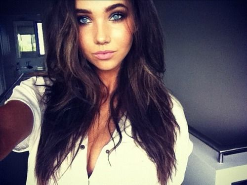pretty girls with brown hair № 419637