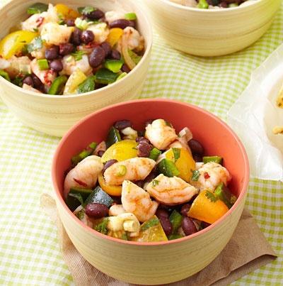 Zesty Shrimp and Black Bean Salad | Recipe