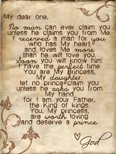 I am His princess ♥