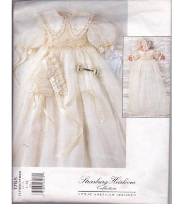 Simplicity 5813- Christening Set - PatternReview.com
