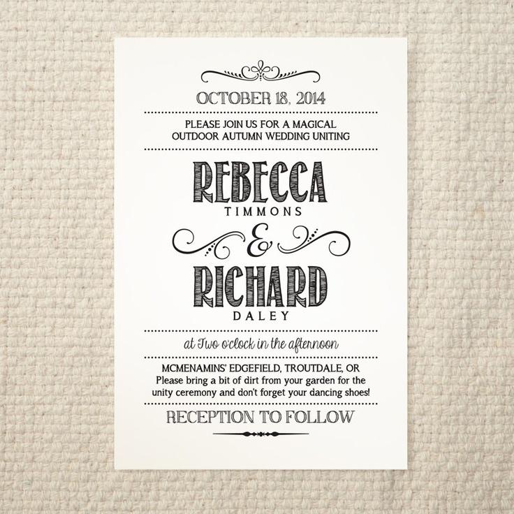 Rustic wedding invitation templates stopboris Choice Image