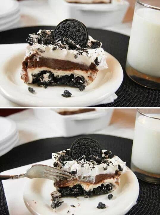Classic Oreo icebox dessert | Pretty Food & drink | Pinterest