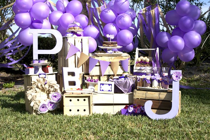 Peanut butter and jelly party such a cute theme http