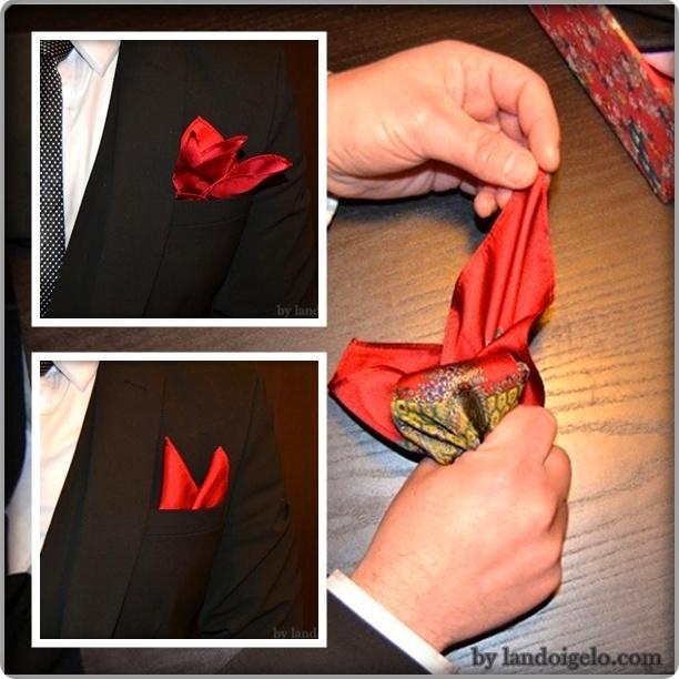 Pañuelos de bolsillo para hombres. Más detalles en landoigelo.com