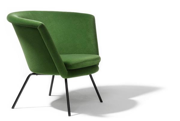sessel h 57, designed by herbert hirche (1957)