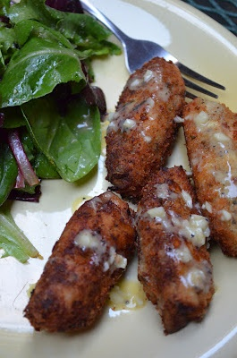 eggplant croquettes with garlic aioli. | amour fou(d) | Pinterest