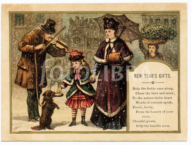 victorian christmas scenes - photo #42