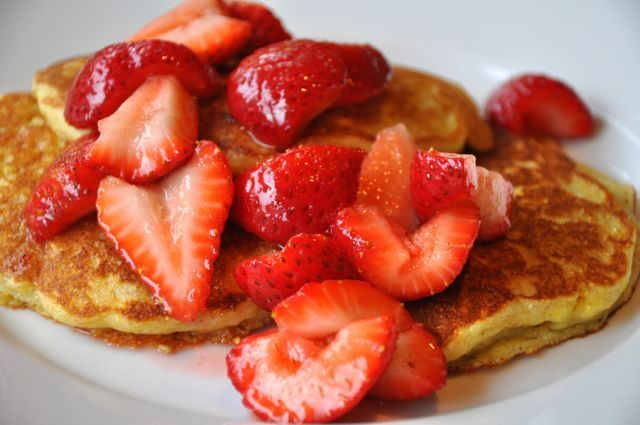 Lemon-Quinoa Pancakes - GF. Possibly the BEST GF pancake I've ever had ...