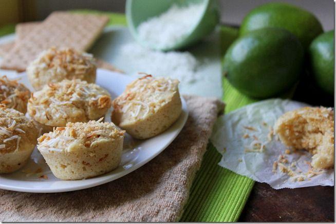 Key Lime Coconut Muffins_LYK | All Things Bread | Pinterest