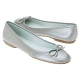 love ballet flats. They are so comfy and can really dress up jeans