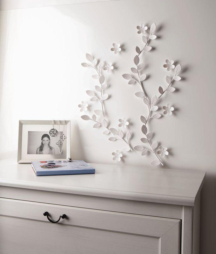 Umbra Feather Wall Decor : Umbra loft twig wall art home decor