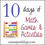 Day 5 - Living Math Books for all  - addition, subtraction, multiplication, division, fractions, measurement & money!  Great resource!