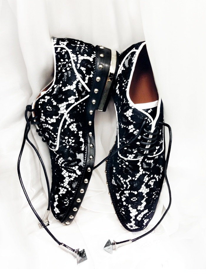 Lace shoes from Givenchy | shoes | Pinterest