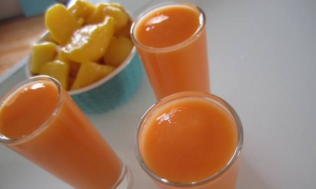 Carrot-Mango Smoothie | FEAST ON THIS | Pinterest