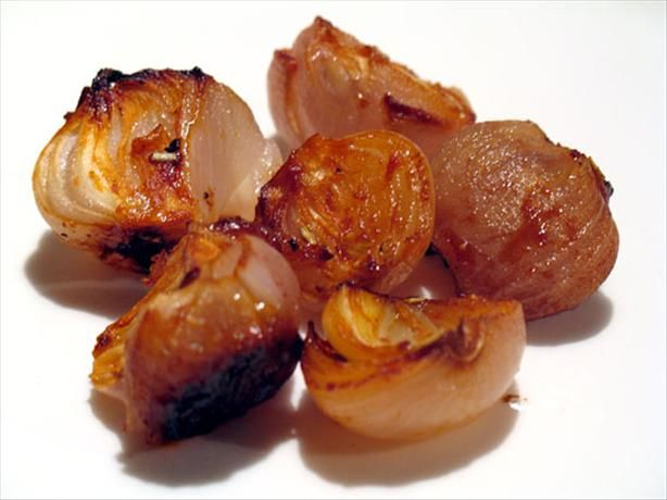 Sweet and Sour Roasted Onions - great with a BBQ.