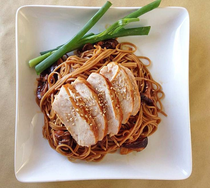 Chicken Teriyaki with Soba Noodles | Cook book | Pinterest