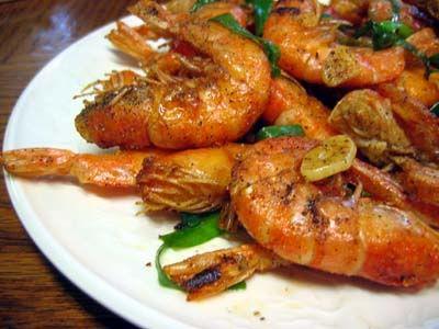 Salt and Pepper Shrimp   Shrimp and Prawns   Pinterest