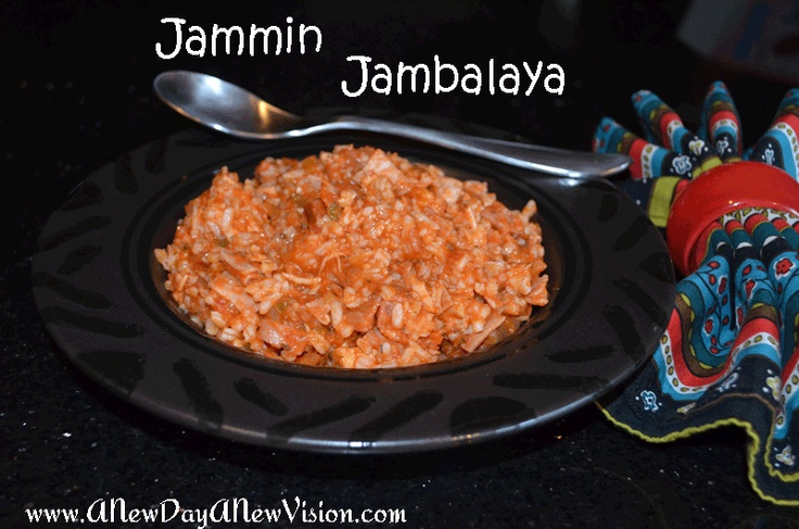 Jammina Jambalaya Recipe — Dishmaps