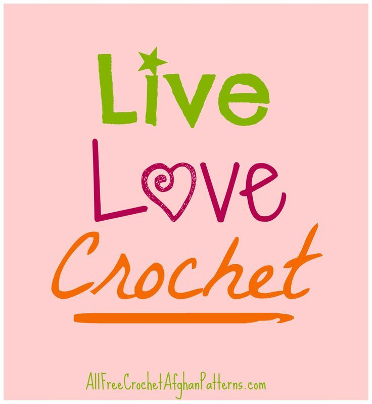 Crocheting Quotes : Live * Love * Crochet * Crafty Crochet Quote to live by! #Christmas ...