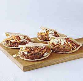 Moroccan+Chicken+Burgers+with+Feta+and+Carrot+Slaw make these they're ...